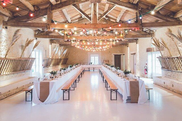 Relation between resistance and temperature- A Wedding hall